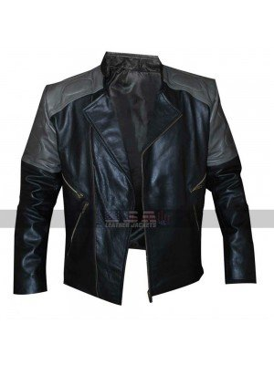 Hackers Jonny Lee Miller Multi Pockets Leather Jacket
